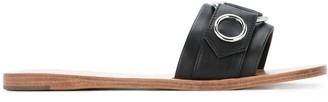 Senso Bobby eyelet slider sandals