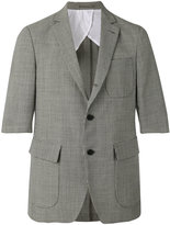 Lardini short-sleeve blazer
