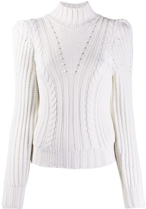 Dondup Fitted Cable Knit Jumper