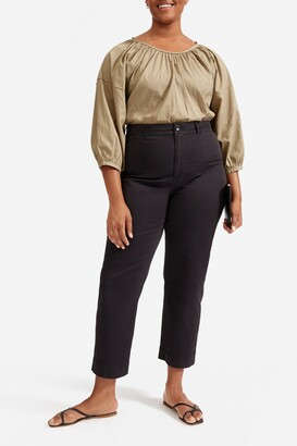 Everlane The Lightweight Straight Leg Crop Chino Pants