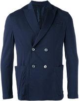 Cruciani knitted blazer - men - Cotton/Spandex/Elastane - 48