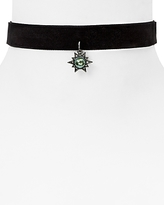 Rebecca Minkoff Rock N' Roll Charm Velvet Choker, 11 - 100% Exclusive