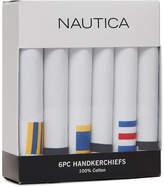 Nautica 6-Pack Cotton Handkerchiefs