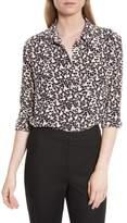 Equipment Women's Reese Print Silk Shirt