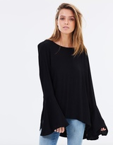 Rusty Formation Long Sleeve Top