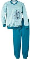 Calida Girl's Bündchen Ice Crystal Pyjama Set,128 (EU)