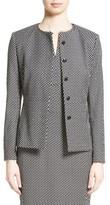 Max Mara Women's Ajaccio Wool Blend Jacquard Jacket