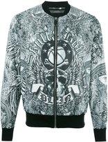 Philipp Plein Forever bomber jacket - men - Polyester - M