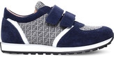 Fendi Mimosa suede lo-top trainers 6-9 years