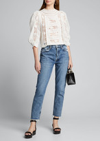 A Gold E Agolde Jamie Jeans