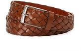 Brunello Cucinelli Braided Woven Leather Belt