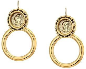 Vanessa Mooney The Gianni Earrings (Gold) Earring
