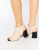 Asos RAZA Peep Toe Shoe Boots