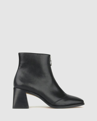 betts Swish Square Toe Ankle Boots