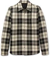 Prada Checked Wool Overshirt