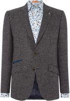 Simon Carter Men's Dogstooth Wool Jacket
