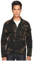 Jack Spade Camo Riverton Shirt Jacket
