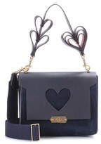 Anya Hindmarch Bathurst XS leather shoulder bag