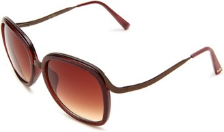 Jessica Simpson Women's J525 BNRT Round Sunglasses