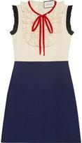 Gucci Silk wool contrast dress