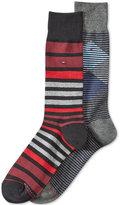 Tommy Hilfiger Men's 2-Pk. Patterned Socks