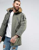 Nicce London Nicce Zip Thru Puffer Jacket