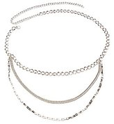 Charlotte Russe Chainlink Layered Belt