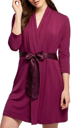 Fleurt Iconic Solid Jersey Robe