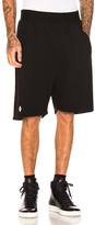 Marcelo Burlon County of Milan Makotenk Shorts in Black.