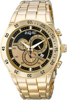 August Steiner Men's AS8083YG Analog Display Swiss Quartz Watch