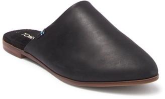 Toms Jutti Slip-On Leather Mule
