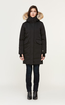 Soia & Kyo PAYTON straight-fit classic down coat