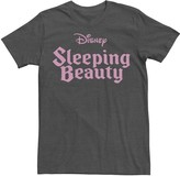 Disney Men's Sleeping Beauty Logo Tee