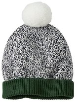 Baby Marled Cotton Snowball Hat
