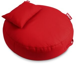 Fatboy Large Sunbrella Outdoor Friendly Classic Bean Bag Upholstery Color: Red