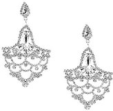 Cezanne Rhinestone Openwork Statement Chandelier Earrings