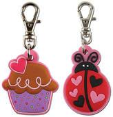 Stephen Joseph Ladybug & Cupcake Key Chain Set
