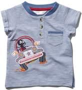 M&Co Bug applique stripe t-shirt