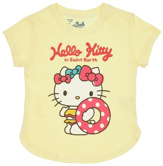 MC2 Saint Barth Hello Kitty Print Cotton Jersey T-shirt
