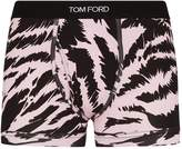 Tom Ford Cotton Tiger Print Boxers