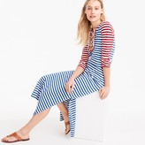J.Crew Striped lace-up dress