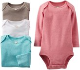 Carter's 4 Pack Bodysuits (Baby) - Assorted