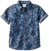 Boys 4-7x SONOMA Goods for LifeTM Floral Chambray Shirt