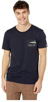 Salty Crew El Dorado Short Sleeve Tee (Navy) Men's T Shirt