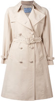 Prada belted trench coat