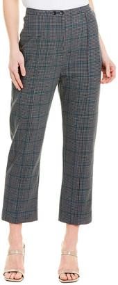 Jonathan Simkhai Buckle Back Wool-Blend Pant