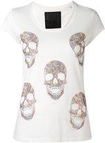 Philipp Plein Skulled T-shirt - women - Cotton - S