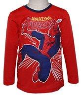 Spiderman Boys T-Shirt M/L Kid Jersey,size