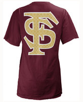 Royce Apparel Inc Women's Florida State Seminoles Quatre Logo Big T-Shirt