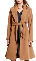 Lauren Ralph Lauren Women's Wool Blend Wrap Coat
